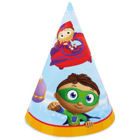 Super Why! Cone Hats