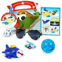 Airplane Adventure Party Favor Box