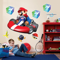 Mario Kart Wii Giant Wall Decals