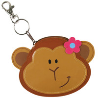 Girl Monkey Coin Purse