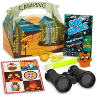 Let's Go Camping Party Favor Box