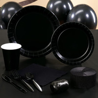 Black Velvet (Black) Standard Party Pack
