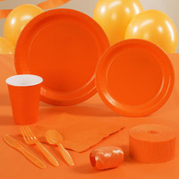 Sunkissed Orange (Orange) Standard Party Pack