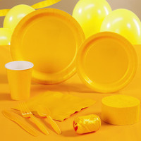 School Bus Yellow (Yellow) Standard Party Pack