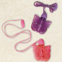 Butterfly Bubble Necklace Assorted