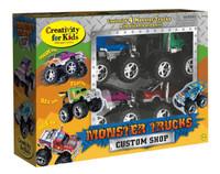 Creativity for Kids Monster Truck Custom Shop Activity