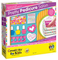 Creativity for Kids Pretty Pedicure Salon Activity