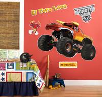 Monster Jam El Toro Giant Wall Decal