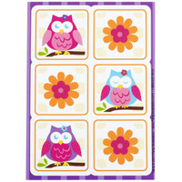 Owl Blossom Sticker Sheets