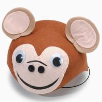 Monkey Felt Hat