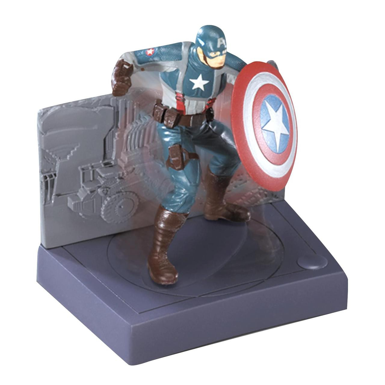 Captain America Spin and Fight Cake Topper
