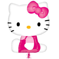 Hello Kitty Shaped Foil Balloon
