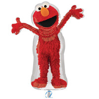 Elmo Shaped Foil Balloon