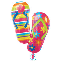 Flip Flops Shaped Jumbo Foil Balloon