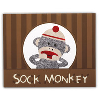 Sock Monkey Red Activity Placemats