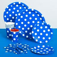 Blue Polka Dot Standard Pack
