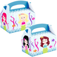 Mermaids Empty Favor Boxes