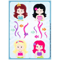 Mermaids Sticker Sheets