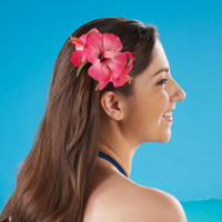 Hibiscus Hair Clip - Assorted