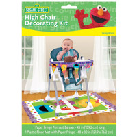 Sesame Street 1st - High Chair Decorating Kit