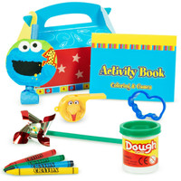 Sesame Street 1st Party Favor Box