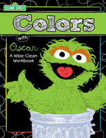 Sesame Street - Fun with Colors and Shapes Write On Wipe Off Book