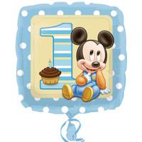Disney Mickey Mouse 1st Birthday Foil Balloon