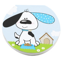 Playful Puppy Blue Notepads