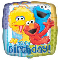 Sesame Street Party Foil Balloon