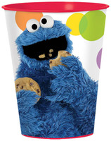 Sesame Street Party 16 oz. Plastic Cup