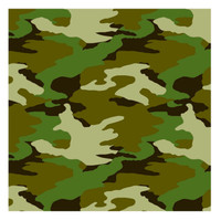 Camouflage Gift Wrap