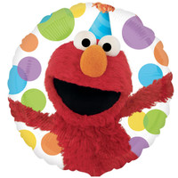 Elmo Happy Birthday Foil Balloon
