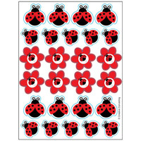LadyBug Fancy Sticker Sheets