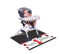 LadyBug Fancy High Chair Decorating Kit