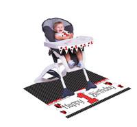 LadyBug Fancy High Chair Decorating Kit