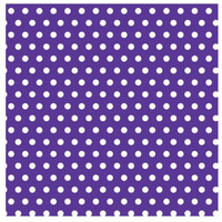Purple with Jumbo Polka Dots Gift Wrap 16ft