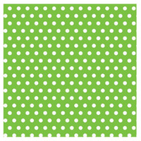 Kiwi with Jumbo Polka Dots Gift Wrap 16ft