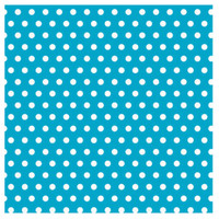 Caribbean with Jumbo Polka Dots Gift Wrap 16ft