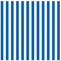 Royal Blue Stripe Jumbo Gift Wrap 16ft