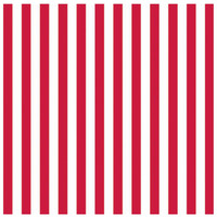 Red Stripe Jumbo Gift Wrap 16ft