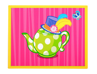 Topsy Turvy Tea Party Activity Placemats