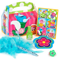 Topsy Turvy Tea Party - Party Favor Box