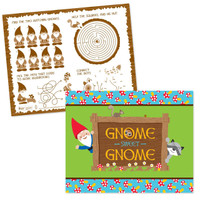 Woodland Gnome Activity Placemats
