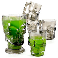 Skull Pitcher and Mug Set