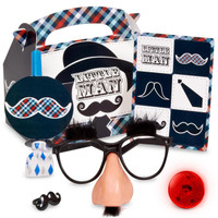 Little Man Mustache Party Favor Box