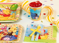 Disney Pooh and Pals 1st Birthday Party Packs