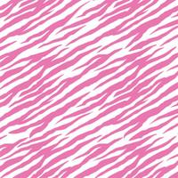 Bright Pink Zebra Striped Tissue Paper