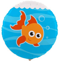 Goldfish Foil Balloon