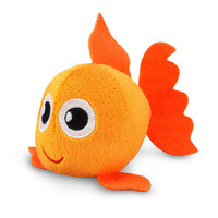 "Plush Goldfish (4"")"