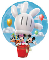 Disney Mickey Hot Air Balloon Jumbo Foil Balloon